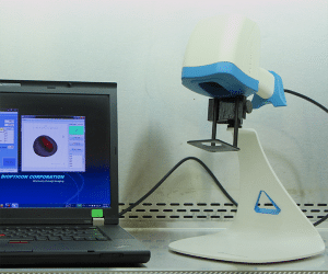 TumorImager2 TM Handheld Device   Desktop and handheld devices to quickly and accurately scan subcutaneous xenograft tumors on small rodents.